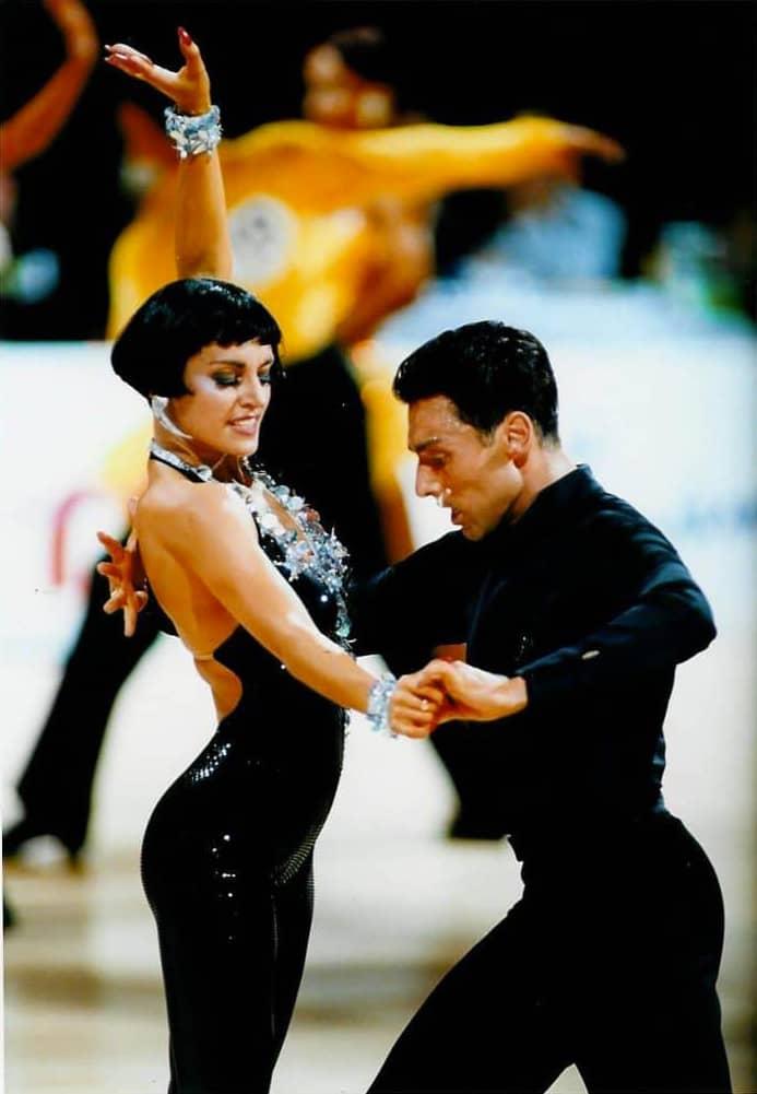 Les professeurs de danse Gaëlle et Éric