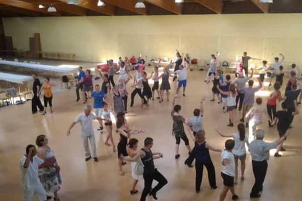 Salle de danse de la résidence Fleurs d'Aubrac