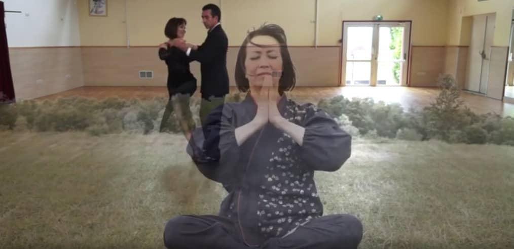 Pratique du Yoga par le professeur de danse Suky