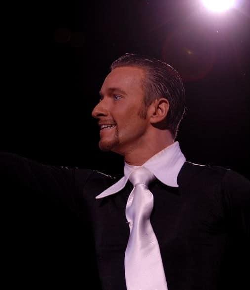 Le professeur de danse Cyril Cerveau